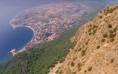 yamac parasutu paragliding oren alatepe kocadag