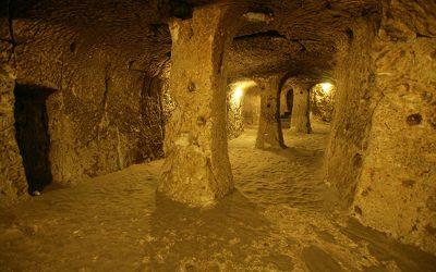 derinkuyu yeralti sehri