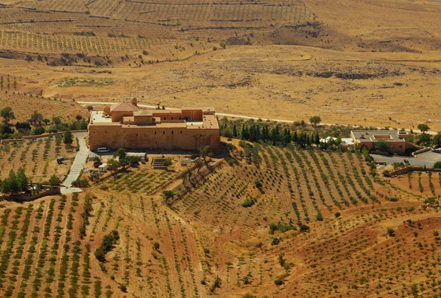 deyrulzafaran manastiri mardin